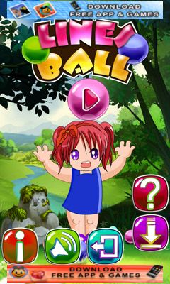 Download free mobile game: Lines ball - download free games for mobile phone.