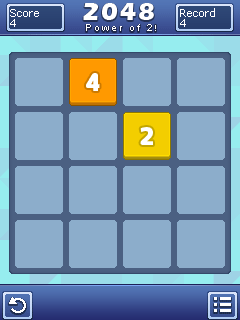 Download free game for mobile phone: 2048: Power of 2 - download mobile games for free.