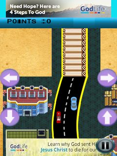 Mobile game Rough driving - screenshots. Gameplay Rough driving.