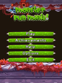 Download free mobile game: Monster run mania - download free games for mobile phone.