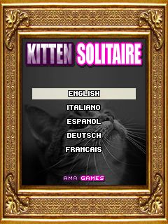 Download free mobile game: Kitten solitaire - download free games for mobile phone.