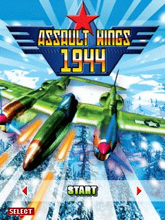 Download free mobile game: Assault wings 1944 - download free games for mobile phone.