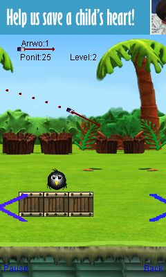 Mobile game Archery birds - screenshots. Gameplay Archery birds.