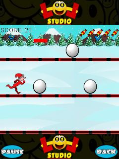 Download free game for mobile phone: Snow runner - download mobile games for free.