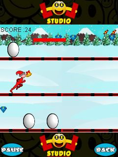 Download free mobile game: Snow runner - download free games for mobile phone.
