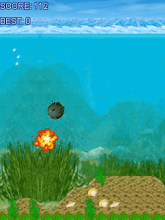 Mobile game Submarine - screenshots. Gameplay Submarine.