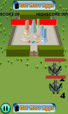 Download free game for mobile phone: Ultimate jet battle - download mobile games for free.