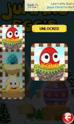 Download free game for mobile phone: Jumping egg's - download mobile games for free.