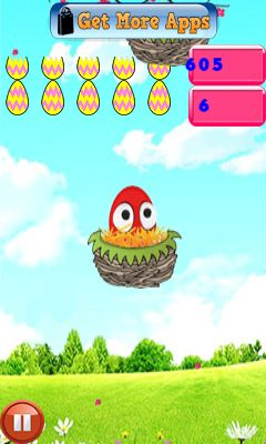 Mobile game Jumping egg's - screenshots. Gameplay Jumping egg's.