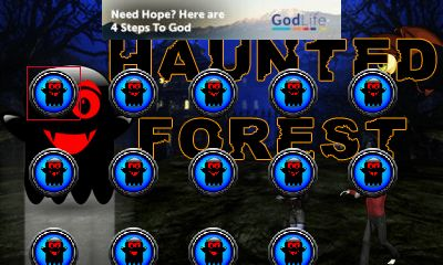 Download free mobile game: Haunted forest - download free games for mobile phone.