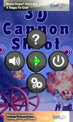 Download free mobile game: 3D cannon shoot - download free games for mobile phone.