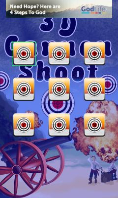 Download free game for mobile phone: 3D cannon shoot - download mobile games for free.