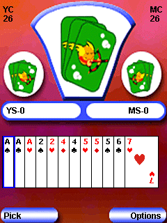 Mobil-Spiel Mr. 420 - Screenshots. Spielszene Mr. 420.