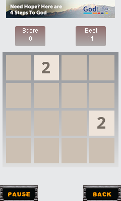 Download free game for mobile phone: 2048: Number puzzle - download mobile games for free.