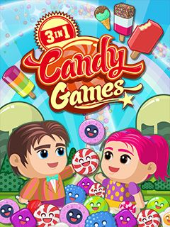 3 in 1: Candy games