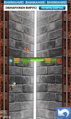Download free game for mobile phone: Zombie jump - download mobile games for free.