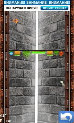 Mobile game Zombie jump - screenshots. Gameplay Zombie jump.