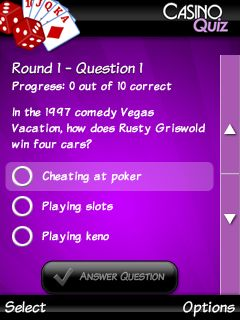 Download free game for mobile phone: Ultimate casino quiz - download mobile games for free.