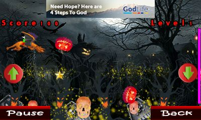 Download free game for mobile phone: Dragon ball: Halloween - download mobile games for free.