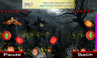Mobile game Dragon ball: Halloween - screenshots. Gameplay Dragon ball: Halloween.
