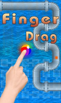 Finger drag
