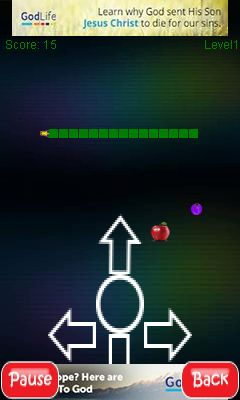 Mobile game Snake 2 - screenshots. Gameplay Snake 2.