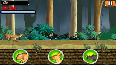 Download free game for mobile phone: Animal transformer run - download mobile games for free.