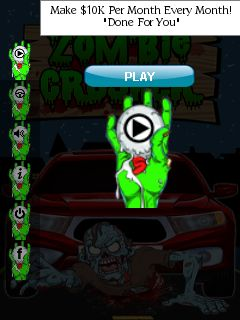Download free mobile game: Zombie crusher - download free games for mobile phone.