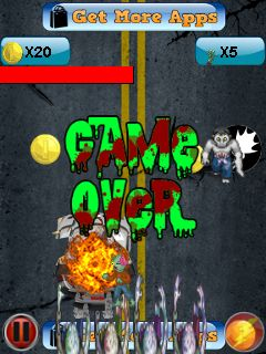 Mobile game Zombie crusher - screenshots. Gameplay Zombie crusher.