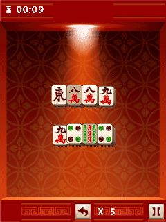 Mobile game Mahjong mania! - screenshots. Gameplay Mahjong mania!.