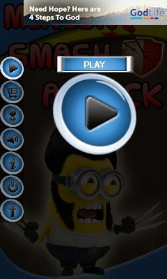 Download free mobile game: Minion smash attack - download free games for mobile phone.