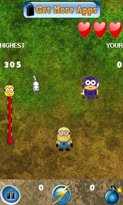 Download free game for mobile phone: Minion smash attack - download mobile games for free.