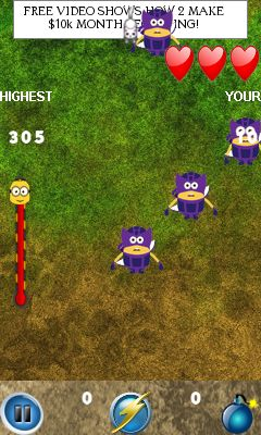 Mobile game Minion smash attack - screenshots. Gameplay Minion smash attack.