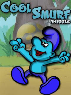 Cool smurf puzzle