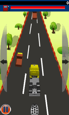 Download free game for mobile phone: Truck madness - download mobile games for free.