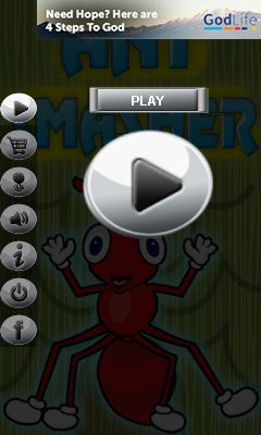 Download free mobile game: Ant smasherr - download free games for mobile phone.