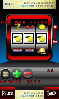 Jeu mobile Machine à sous  - captures d'écran. Gameplay Gambling.