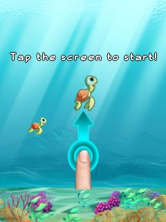 Download free game for mobile phone: Flappy turtle - download mobile games for free.