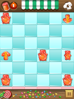 Mobile game Jelly bomb - screenshots. Gameplay Jelly bomb.