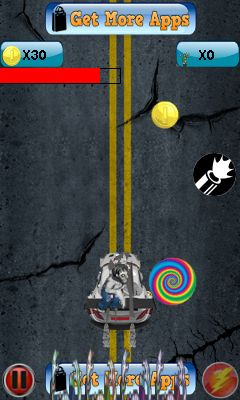 Mobile game Zombie death race - screenshots. Gameplay Zombie death race.