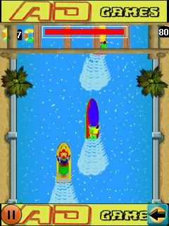 Download free game for mobile phone: JetSki survival - download mobile games for free.