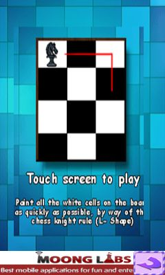 Download free mobile game: Move the knight - download free games for mobile phone.