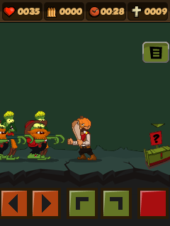 Mobile game Halloween: Zombie massacre - screenshots. Gameplay Halloween: Zombie massacre.