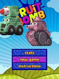 Download free mobile game: Fruit bomb - download free games for mobile phone.