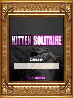 Download free game for mobile phone: Kat Solitaire - download mobile games for free.