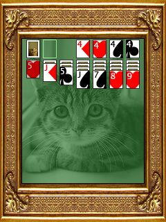 Download free mobile game: Kat Solitaire - download free games for mobile phone.