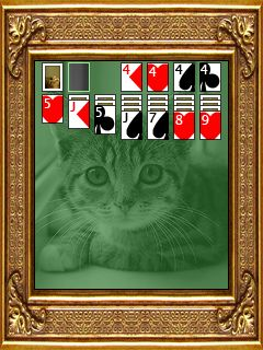 Mobile game Kat Solitaire - screenshots. Gameplay Kat Solitaire.
