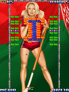 Jeu mobile Boules de bikini: Edition de hockey - captures d'écran. Gameplay Bikini balls 2: Hockey edition.