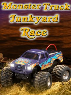 Monster truck Junkyard race