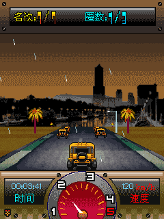 Mobile game Midnight club: Los Angeles - screenshots. Gameplay Midnight club: Los Angeles.